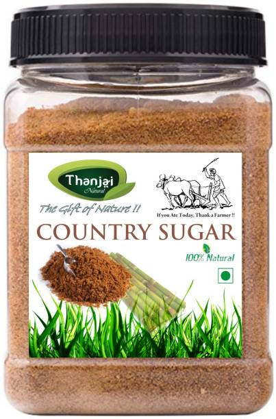 THANJAI NATURAL COUNTRY SUGAR 10KG JAR PURE 100% NATURAL Sugar