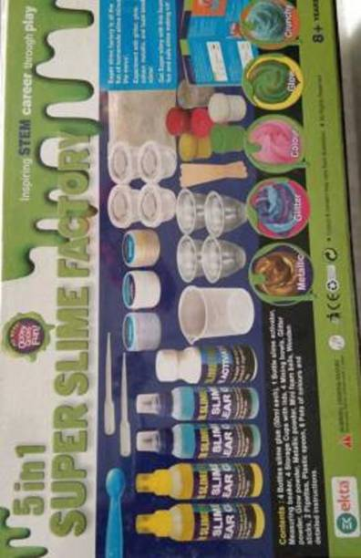 Collectionmart 5 in 1 Super Slime Factory Making kit
