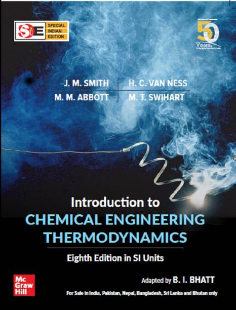 Introduction To Chemical Engineering Thermodynamics (8th Edition, SIE)