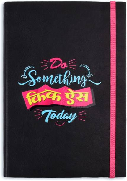 doodle Kick Ass Hinglish Notebook A5 Notebook Blank Colored pages 192 Pages