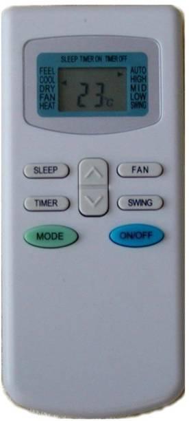 POOJA remote controller compatible to L-Goej AC TCL AC REMOTE, Godrej AC REMOTE Remote Controller