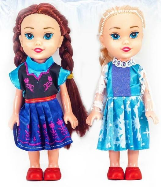 AVP Snow Sister Doll Pack of 2 for Girls 3 to 12 Years.