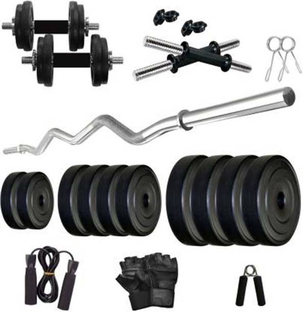 Mahadev Sports 08 Kg pvc Home Gym combo Gym & Fitness Kit