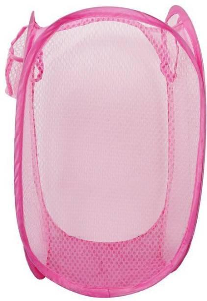 CASA FURNISHING 40 L Pink Laundry Bag
