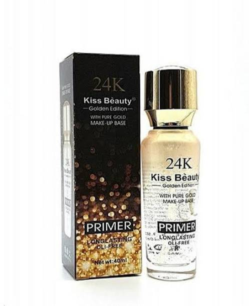 Kiss Beauty GOLDEN EDITION WITH PURE GOLD MAKEUP BASE PRIMER Primer  - 40 ml