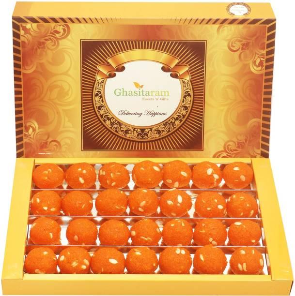 Ghasitaram Gifts sweets-Motichoor Laddoo Box (800 gms) Box