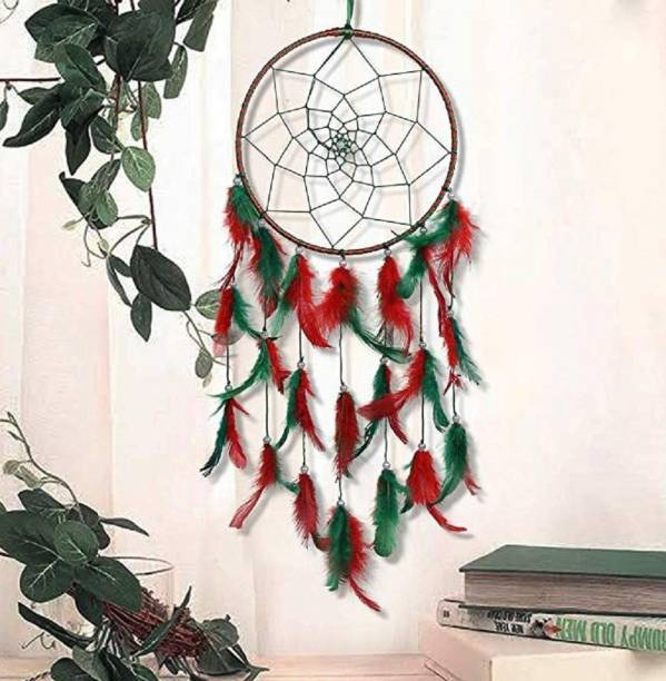 BS AMOR Feather Dream Catcher