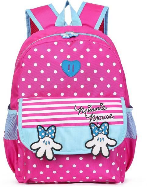 BLOSSOM SB065_01B School Backpack College Bag Travel Bag 1st Standard onward Waterproof School Bag