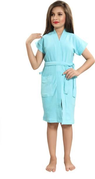 Lovira Blue Large Bath Robe
