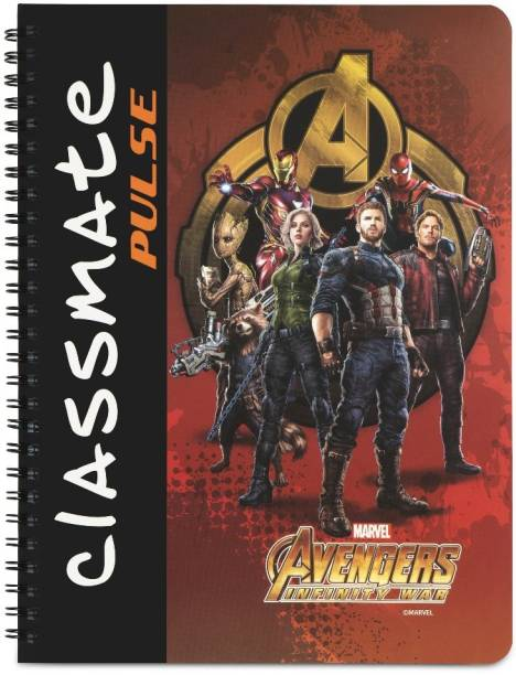 Classmate Pulse Book-size Notebook Unruled 160 Pages