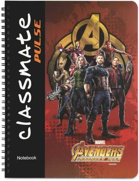 Classmate Pulse Regular Notebook Single Line 160 Pages