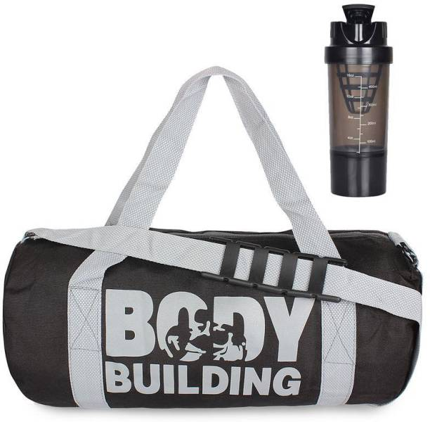 5 O' CLOCK SPORTS gym bag for men Black Body building Gym bag with Black spider Gym and fitness kit Gym & Fitness Kit