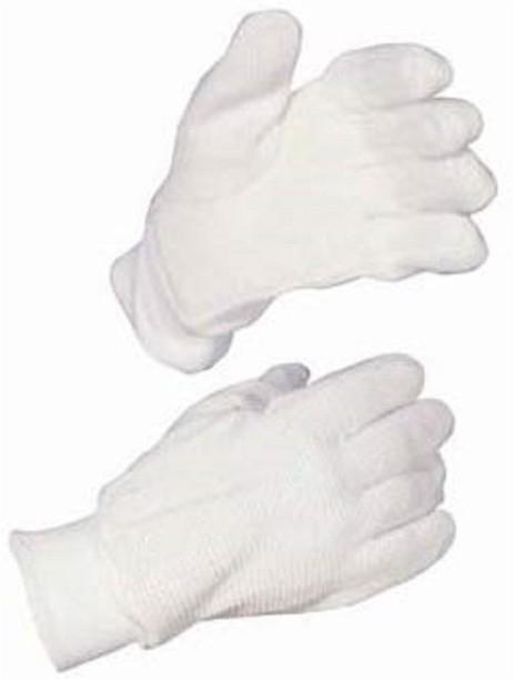 Batting Inner Gloves Cricket Glove Cotton White Mens Fullfinger Adults One Size