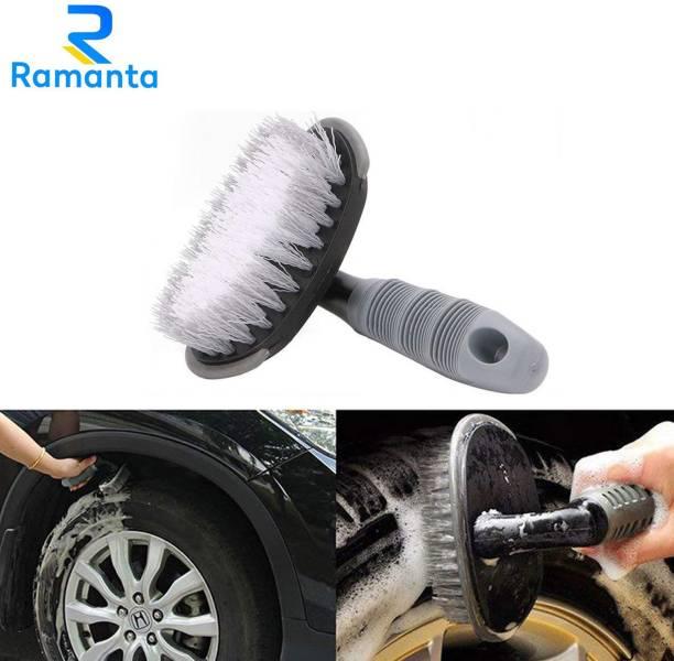 Ramanta Bike Tyre Rim Cleaner Brush for Honda All Bikes 0 ml Wheel Tire Cleaner