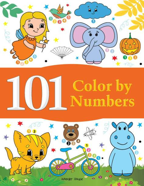 101 Color by Numbers - By Miss & Chief 1 Edition