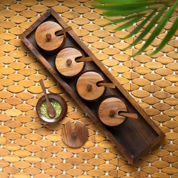 ExclusiveLane Handcrafted Rectangular 1 Piece Spice Set