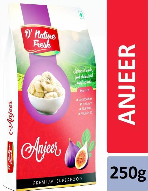 D NATURE FRESH Anjeer 250g Figs
