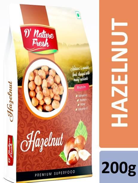 D NATURE FRESH Hazelnut 200g Hazelnuts