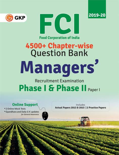 FCI Manager Phase I & Phase II (Paper 1) - Chapterwise Question Bank (English) 1 Edition