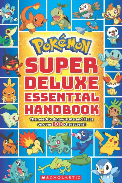 Super Deluxe Essential Handbook - The Need to Know Stats and Facts on Over 800 Characters!