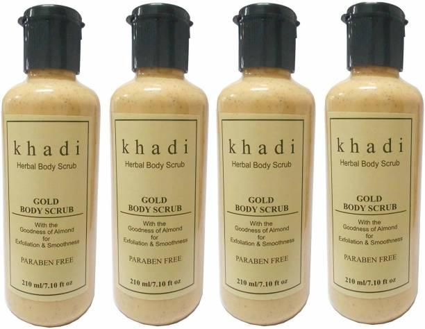 Khadi Herbal Gold Body Scrub