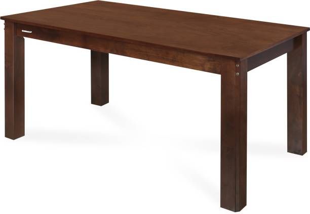 Nilkamal Garnet Engineered Wood 6 Seater Dining Table