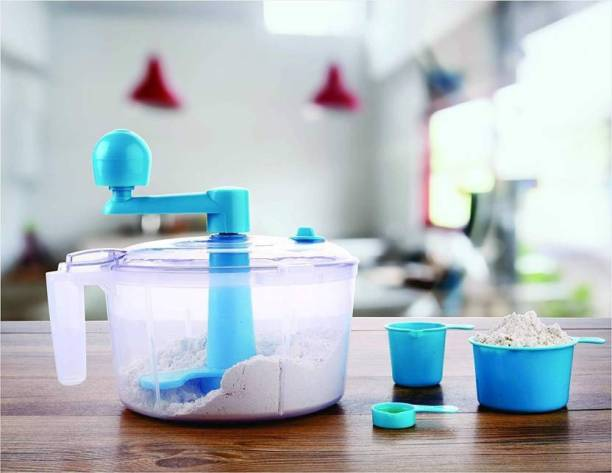 WDS ®Atta maker Dough Kneader, Food Grade Plastic Detachable Plastic Spiral Dough Maker Plastic Spiral Dough Maker
