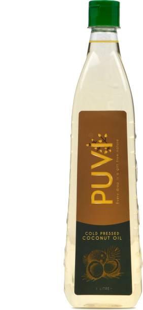 Puvi Cold Pressed Coconut Oil Coconut Oil Plastic Bottle