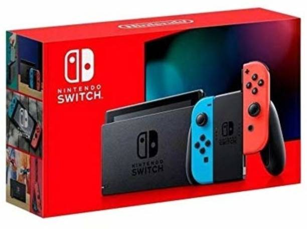 NINTENDO Switch with neon red and neon blue Joy?Con - Version 2 1000 GB