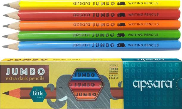 APSARA Jumbo Extra Dark Pencils Pencil