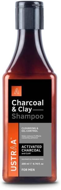 USTRAA Charcoal & Clay Shampoo