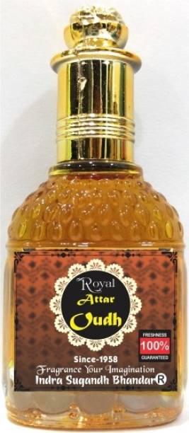 INDRA SUGANDH Royal Oudh ~ Long Lasting Oudh Fragrance ~ Pure Arabic Fragrance Herbal Attar