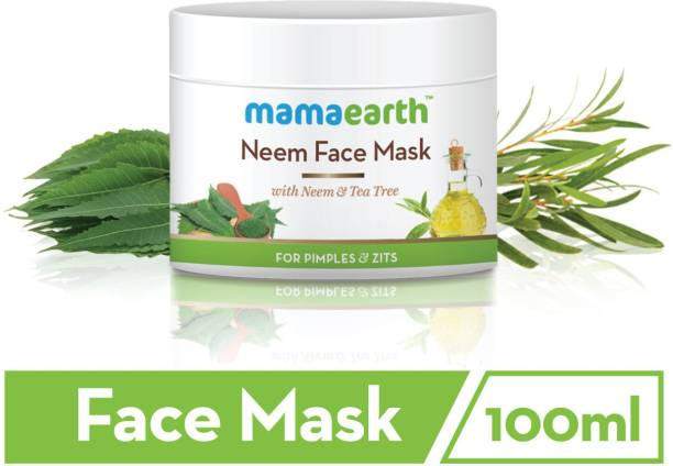 """MamaEarth """"Neem Face Pack, With Pimples & Zits 100 ml"""""""