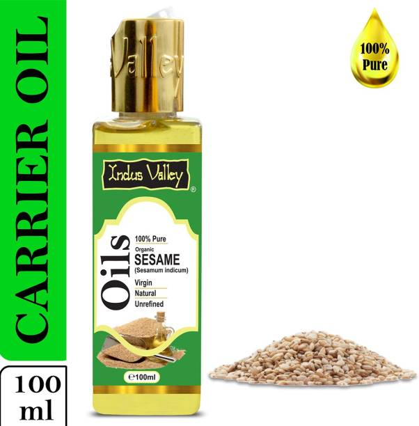 Indus Valley 100% Pure Sesame Carrier Oil - For Aromatherapy Massage