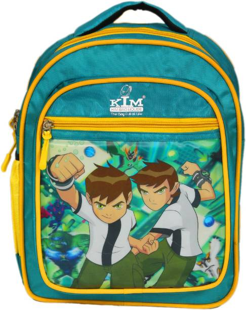 Kim Bag House Ben 10 Waterproof School Bag Waterproof Backpack