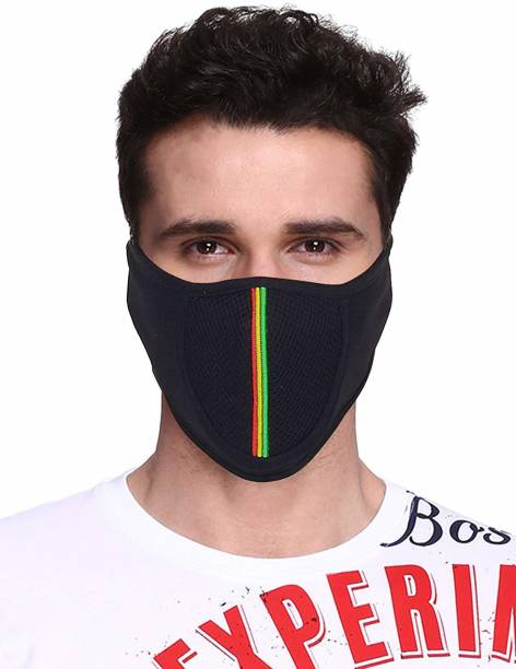 jocker Black Bike Face Mask for Men & Women
