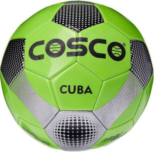 Cosco Green Cuba Football   Size: 5 Pack of 1, Multicolor