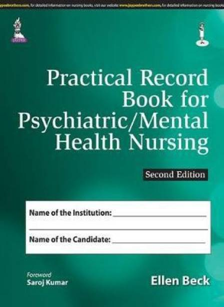 Practical Record Book for Psychiatric/Mental Health Nursing 2nd  Edition