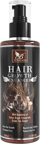 The Body Avenue Hair Growth Enhancer Oil Promotes Hair Growth, Nourish Hair Follicles, Anti Hair Fall, Anti Dandruff Hair Oil