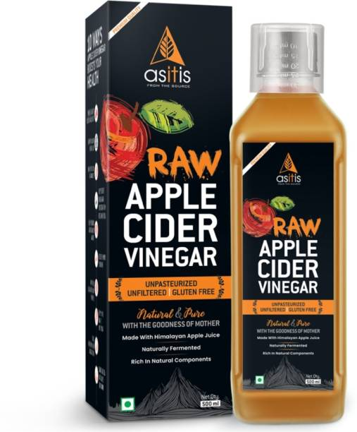 AS-IT-IS Nutrition Raw Apple Cider Vinegar with mother 500 ml Vinegar