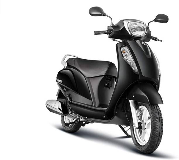 Aryan trading co Scooter Seat Cover For uzuki ccess 125 (Black) Single Bike Seat Cover For Suzuki Access