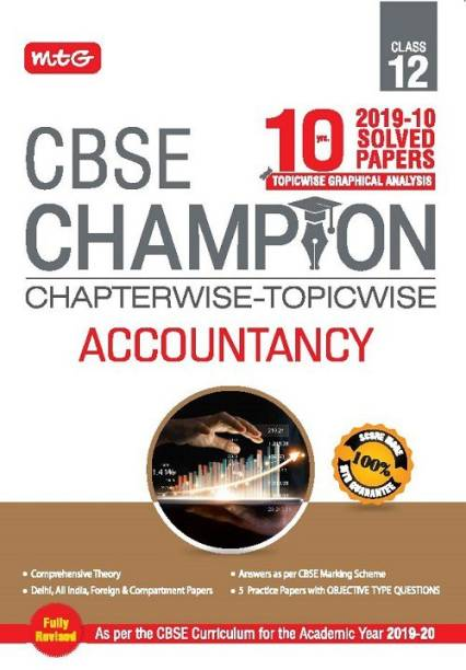 10 Years Cbse Champion Chapterwise-Topicwise Accountancy Class 12