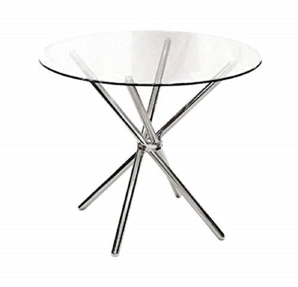 SafeKart Contemporary Dining Table Metal 4 Seater Dining Table