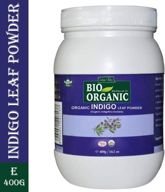 Indus Valley Organic and Natural Indigo Powder - Bulk Jar Pack