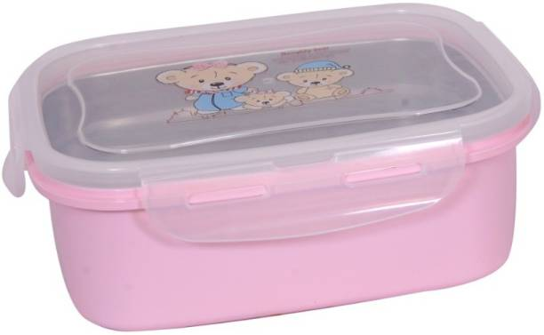 AKR Containers Lunch Box (Pink) 1 Containers Lunch Box
