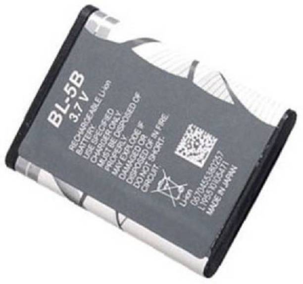 Pacificdeals Mobile Battery For  Nokia Nokia BL-5B 3220, 3230, 5070, 5140, 5140i, 5200, 5300 XpressMusic, 5320 XpressMusic, 5500 Sport, 6020, 6021, 6060, 6070, 6080, 6120 classic, 6121 classic, 6124 classic, 7260, 7360- 890mAh