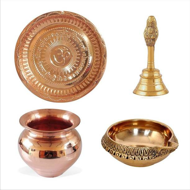 BRRL Puja thali Copper