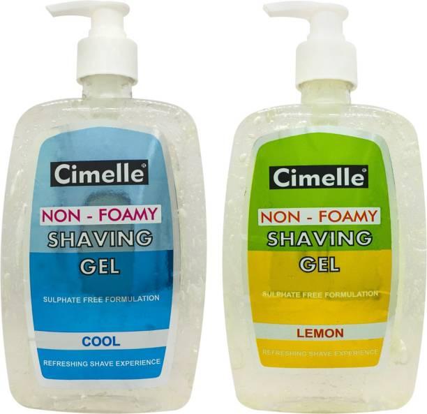 Cimelle Shaving Gel Cool + Lemon