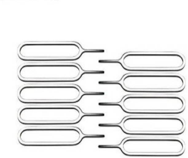 FUZION 10 Pcs. SIM Card Tray Ejector Pin Tool Sim Adapter