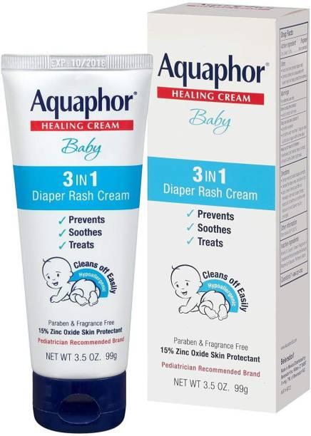 Aquaphor Baby Diaper Rash Cream, 3.5 Ounce 99G
